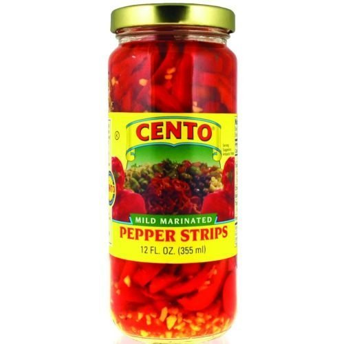 Cento Marinated Pepper Strips , 12 ounce -- 12 per case by - Marinated Pepper
