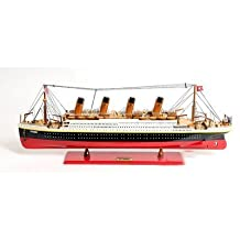 Titanic Painted Ship by Old Modern Handicrafts