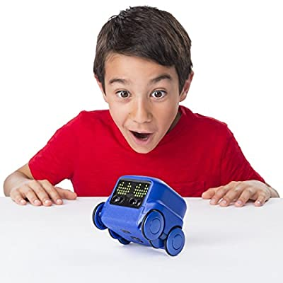 Boxer - Interactive A.I. Robot Toy (Blue) with Personality and Emotions, for Ages 6 and Up: Toys & Games