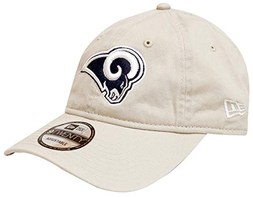 New Era NFL Cotton Strapback Hat (Los Angeles Rams)