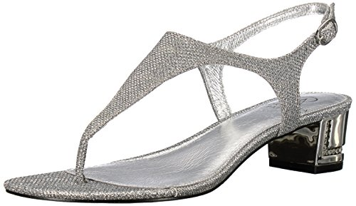 Silver Papell Adrianna Women Antique Cassidy Sandal Flat 7nYgqwz