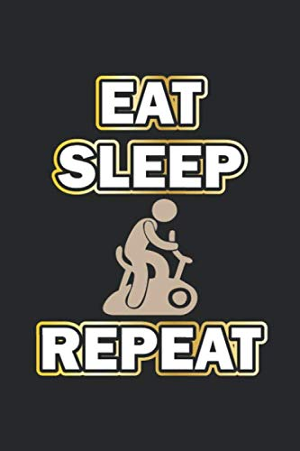 Eat Sleep Repeat: Monatsplaner, Termin-Kalender | Geschenk-Idee für Fitness Fans | A5 | 120 Seiten por D. Wolter