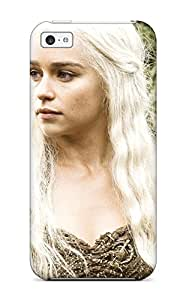 Durable Emilia Clarke In Hbo Game Of Thrones Back Case/cover For Iphone 5c