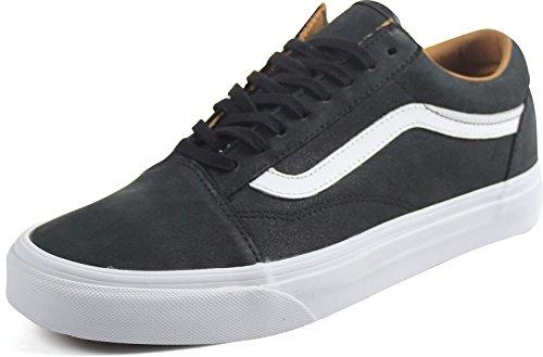 Low Skool Black Vans Trainers Old Top White True Adults' Unisex AR4qI