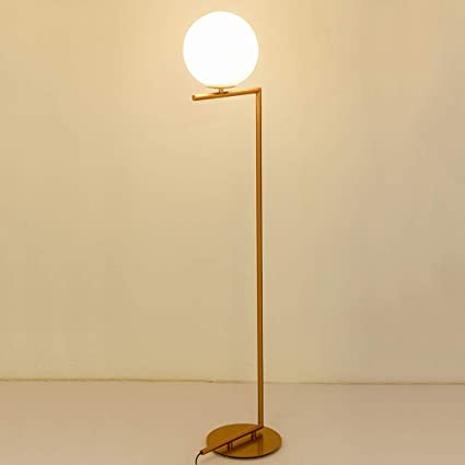 Lámpara de pie, lámpara de Mesa nórdica Minimalista Bola de ...