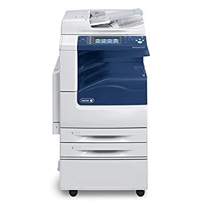 Demo Unit Xerox WorkCentre 7220 A3 Color Laser Multifunction Printer - 20ppm, Copy, Print, Scan, 2 Trays and Cabinet