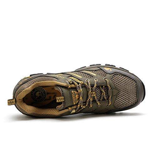 Scarpe Cammello Sneaker Casual Da Uomo Colore Army Green Taglia 40 M Eu