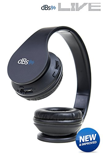 UPC 638170929564, dBs Live 2 (updated) Wireless Bluetooth Headphones with Mic V4.1 On-ear Foldable Headset for Gym , Sports , Exercise , Workout , Music Streaming for iOS Android , PC and Mac.
