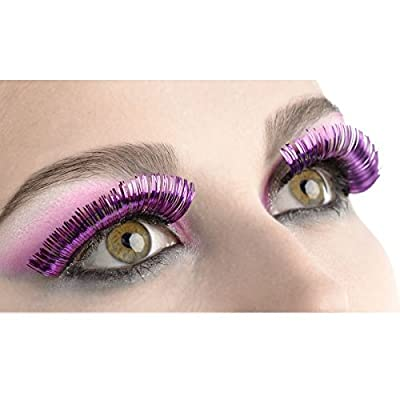 Amscan Tinsel Eyelashes, Party Accessory, Purple: Toys & Games