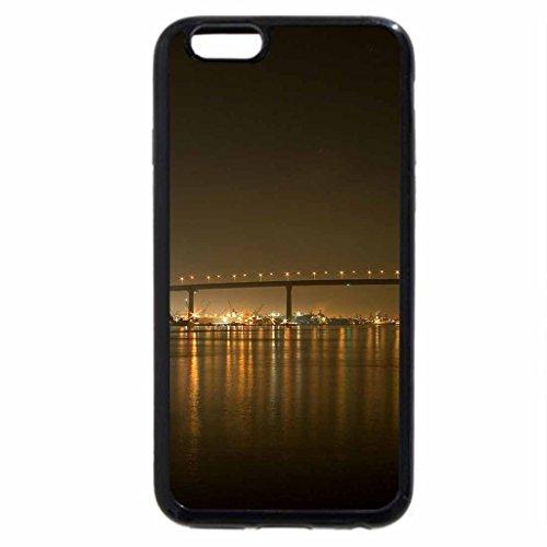 iPhone 6S / iPhone 6 Case (Black) Coronado Bridge