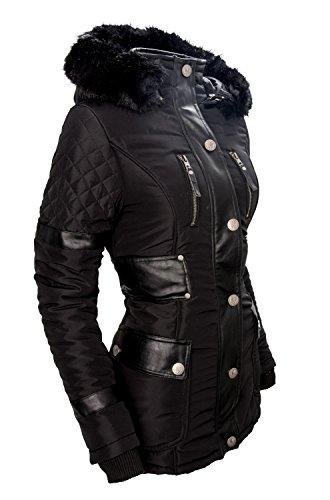Manteau Noir Femme Noir Navahoo Parka gqx88Pw