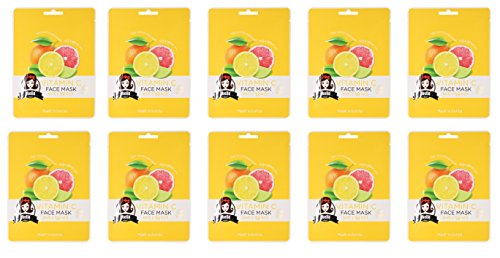 Korean Beauty Vitamin C Face Mask Value Pack