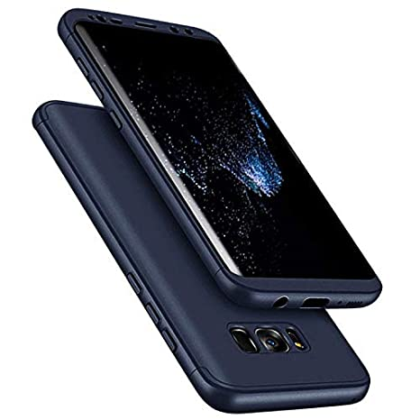 Für Galaxy S7 Edge Hülle,Galaxy S7 Edge 360 Grad Hülle, Uposao [360 Grad Komplett Schutz] [Ultra Dünn] Hülle Hardcase 360 Full Body Schutz Handyhülle Komplettschutz Front + Back Rundum Double Beidse