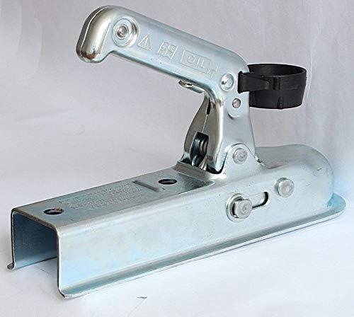 Winterhoff Bo/îtier dattache Tube carr/é 40 mm 800 kg WW 8-D40
