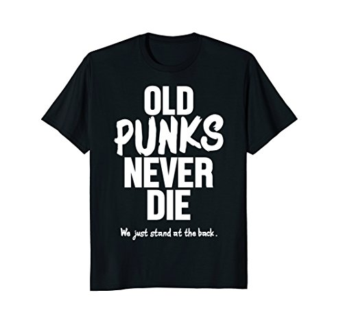 Punk Bands T-shirts (Old Punks Never Die Rock Punk Rocker Music Band T-Shirt)