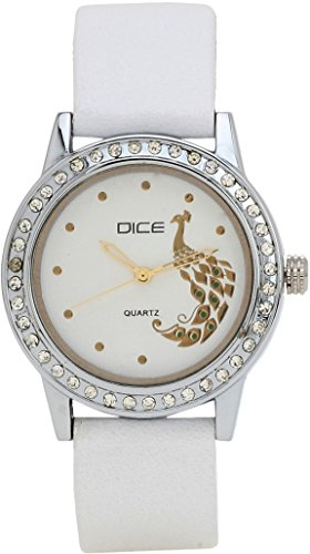 Dice Women's Analogue White Dial Watch – DCFMRD25LTWITWIT815