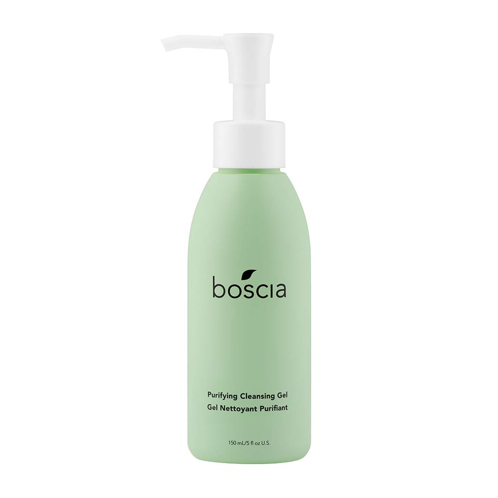boscia Purifying Cleansing Gel - Daily Natural Purifying Deep Cleansing Gel Face Cleanser, 5 fl oz by boscia