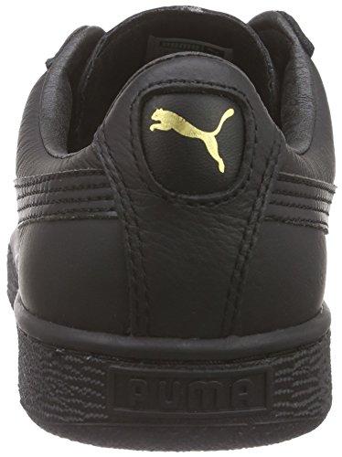 Basket black Classic Basses team Mixte Gold Negro Puma Noir Adulte Lfs fdqFxwnS8
