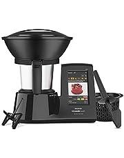 40% de descuento en Taurus Mycook Touch Black Edition - Robot de cocina inteligente mulifunición, conexión WIFI multidispositivo, pantalla táctil, cocina por inducción hasta 140ºC, recetas gratis e ilimitadas, 1600 W
