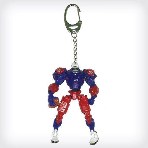 "Buffalo Bills 3"" Team Cleatus FOX Robot NFL Football Key Chain Version 2.0"