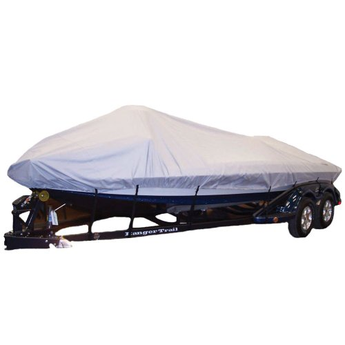 "Dallas Manufacturing Semi Custom Boat Cover Size: 258"" L x 98"" W"