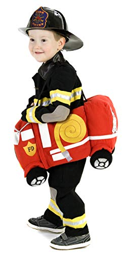 Princess Paradise Plush Ride-in Firetruck Costume, One Size -