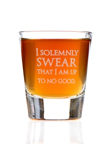 I Solemnly Swear I Am Up To No Good: Harry Potter Inspired Shot - Glass Potter Harry