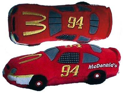 Nascar Beanie Racers Bill Elliot #94 McDonalds Race Car Mcdonalds Race