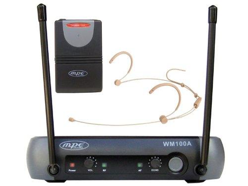 3 opinioni per MPE- Radiomicrofono ad archetto MPE radio microfono singolo archetto color carne