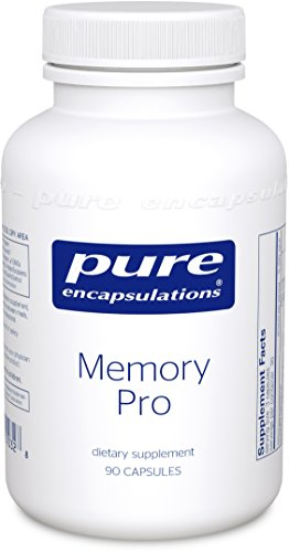 Pure Encapsulations - Memory Pro - Dietary Supplement with Broad-Spectrum Memory Support Formula* - 90 Capsules (Capsules Ginkgo 90 Biloba)