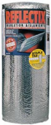 Reflectix ST16025 Reflective Insulation, Double Bubble Foil, Staple Tab, 16-In. x 25-Ft.