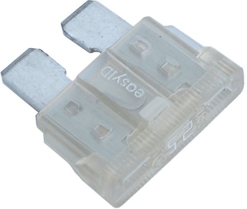 Blue Sea Systems 25A easyID Fuse (25a Blade Fuse)