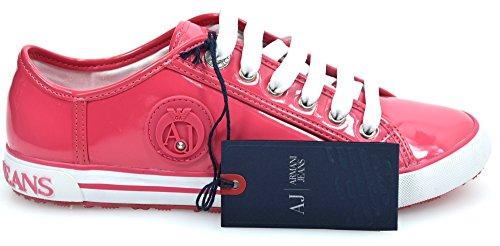 5 Libero In Usa 41 Vernice Jeans Uk 05 Armani 9 Casuale Eu Rosa 7 Sneaker Codice Donna 508 Scarpe Tempo 5 qZxxg48wt