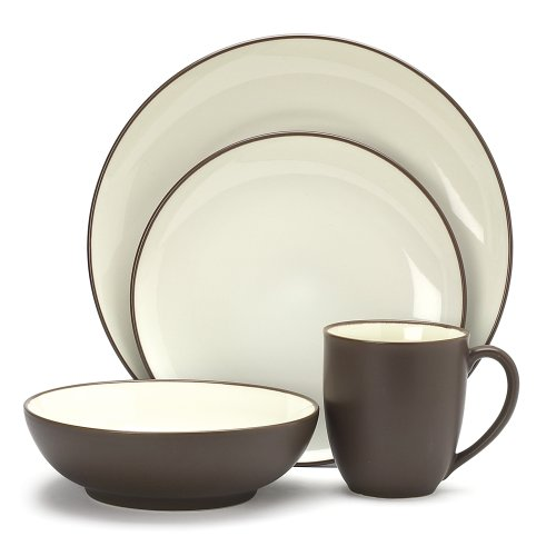 Noritake Colorwave Chocolate 4-Piece Place Setting ()