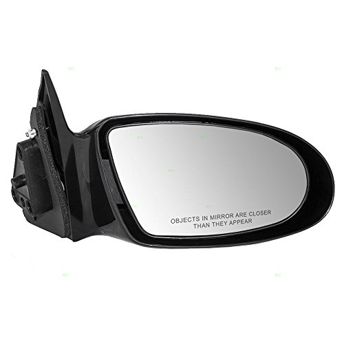 Geo Prizm Mirror Glass (Passengers Manual Side View Mirror Replacement for Geo 94856319)