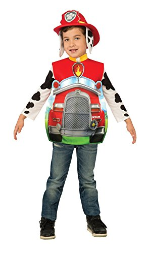 Firefighter Halloween Costumes Toddler (Rubie's Costume Paw Patrol 3D Marshall Child Costume, Toddler)