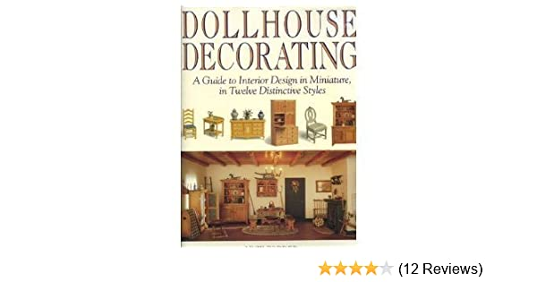 Dollhouse Art Deco Picture MADE IN AMERICA FAST DELIVERY