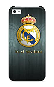 Durable Case For The Iphone 5c- Eco-friendly Retail Packaging(real Madrid Fc Logo )