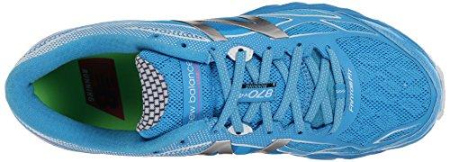 New Balance Women's W870V4 Running Shoe Blue/White