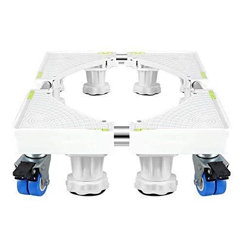 MSLYDYG Universal móvil Lavadora Placa Base, con 8 pies y 4 Ruedas ...