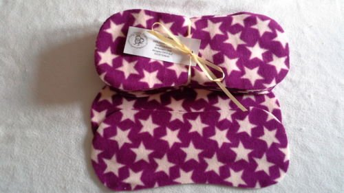 Easy Peasy Fleece Nappy Liners Pk15 Purple Star Micro Fleece Easy Peasy Nappies