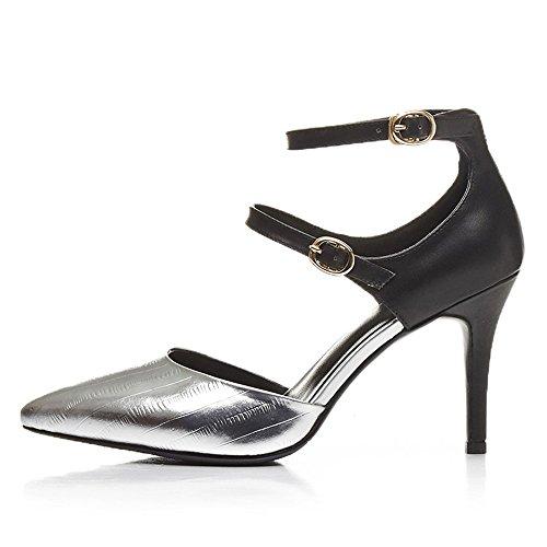 Nine SevenHeels - Zapatos de tacón  mujer plata