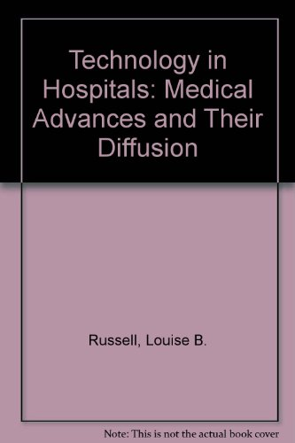 Technology in Hospitals: Medical Advances in Their Diffusion