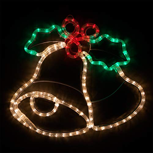 Christmas Bell Lights Outdoor in US - 1