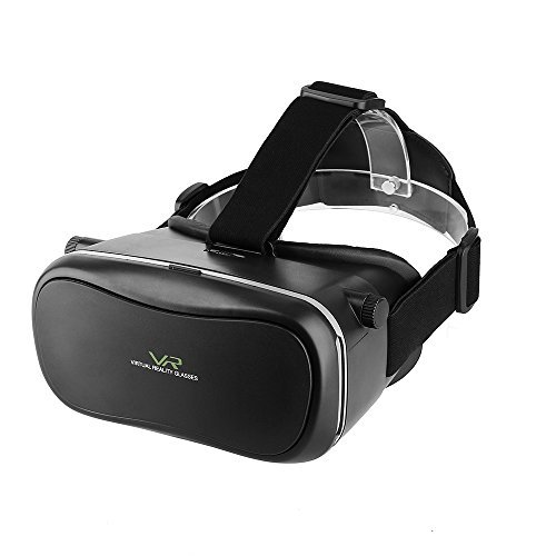 "VR Headset Glasses MECO Virtual Reality Mobile Phone 3D Movies Goggles for 4.7""-6.0"" Cellphones iPhone 6s/6 plus/6/5s/5c/5 Galaxy 6s"