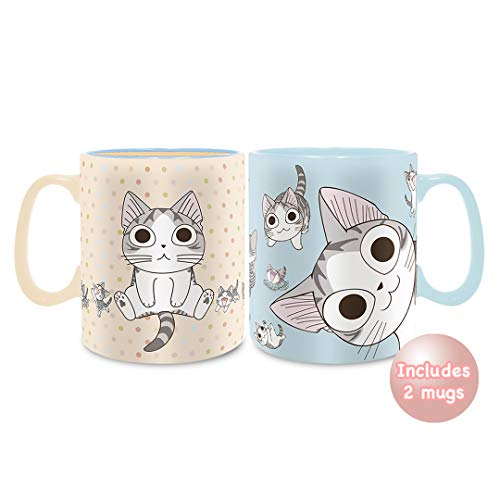 Home Sweet Home Mug - Chi's Sweet Home - Cat Lovers Mug Assortment, 16 ounces