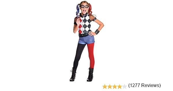 Rubies 620712 DC Comics - Disfraz de Harley Quinn licencia oficial ...