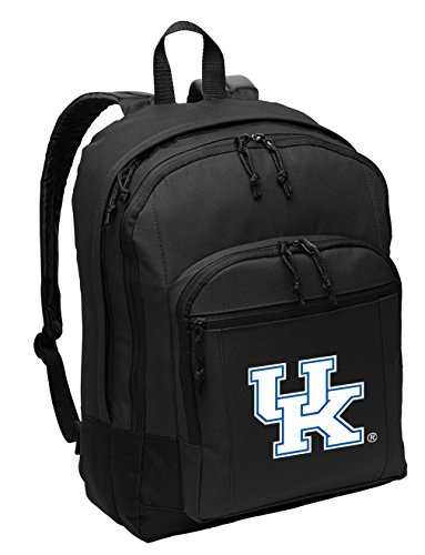 Broad Bay University of Kentucky Backpack Classic Style Kentucky Wildcats Backpack Laptop Sleeve (Laptop Bag Wildcats Ncaa Kentucky)