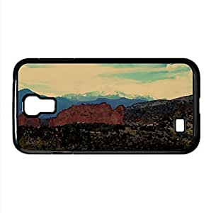 Mountain Landscape Nature 2 Watercolor style Cover Samsung Galaxy S4 I9500 Case (Mountains Watercolor style Cover Samsung Galaxy S4 I9500 Case)