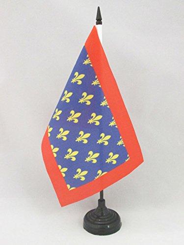 Pays de la Loire 14 x 21 cm AZ FLAG Drapeau de Table Sarthe 21x14cm Petit Drapeaux DE Bureau d/épartement fran/çais